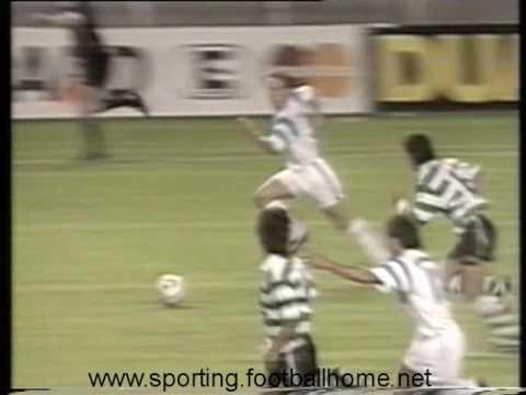 Marselha - 1 x Sporting - 0 de 1991/1992 Particular