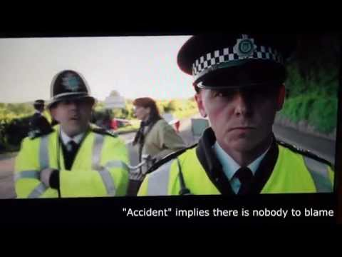 Hot Fuzz clip: Accident Implies There