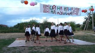 Молдавские мотивы - танцевальный коллектив СанРайз