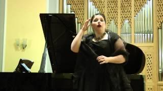 """Marion Gomar singt aus """"Die schöne Helena"""" von J. Offenbach Helenas Anrufung der Venus"""