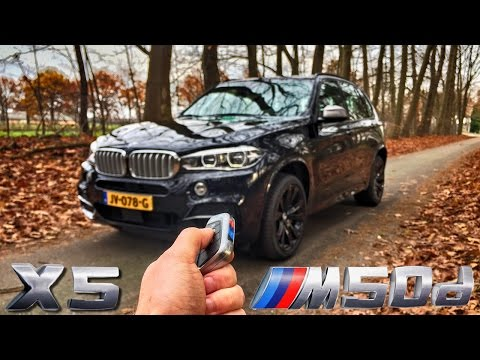 BMW X5 2017 M50d POV Review by AutoTopNL