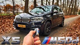 BMW X5 2017 M50d POV Review by AutoTopNL