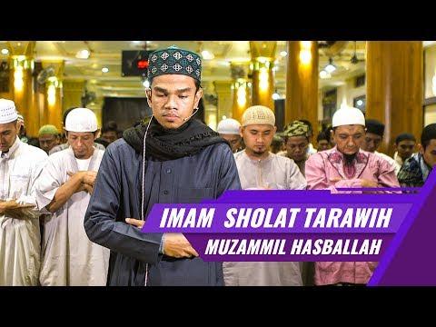 Muzammil Hasballah | Imam Sholat Tarawih | Surat Al Fatihah, al ikhlas, al falaq, an nas