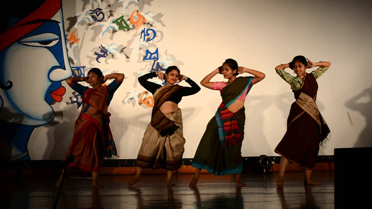 Dance Performance On Bhador Ashwin Mase Mon Amar Kemon Kemon Kore Bhoomi