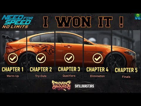 NFS No Limits | Proving Grounds - Jaguar XE SV Project 8 | Chapter 5 - Winning the car !