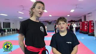 Member testimonial- Jen (Adults Program) & Harry O'Reilly (Ninjas Program)