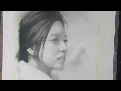 Học Vẽ Online AZ – Quy Trình Chuẩn Vẽ Chân Dung Phần 3