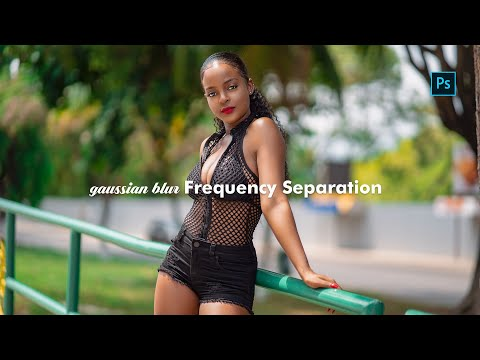 Photoshop Tutorial - frequency separation using gaussian blur thumbnail