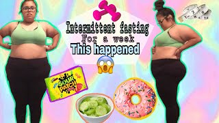 My Weight loss Journey   Intermittent Fasting