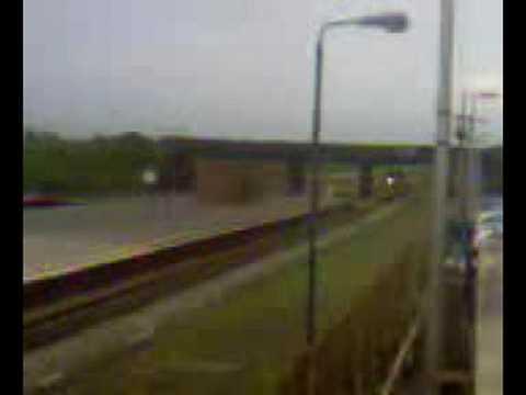 class 158 DMU on a red light