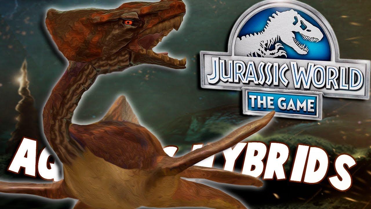 *NEW* Aquatic Hybrid!!!   Jurassic World - The Game ...