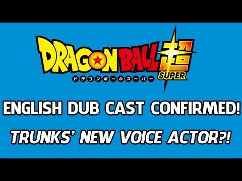 Dragon Ball Super English Dub FUNIMATION Cast CONFIRMED