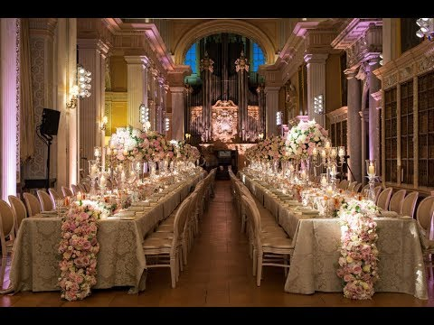 Opulent Blenheim Palace Wedding by Bespoke