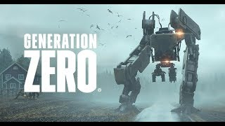 GENERATION ZERO 14 минут игровое видео gameplay в открытом мире Gamescom 2018