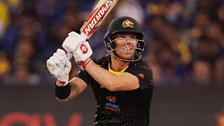 Every T20I boundary struck by David Warner this summer