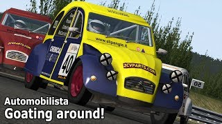 AutoMODilista: Goating around! (Citroën 2CV mod review)