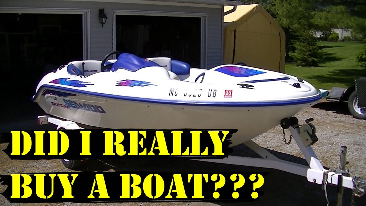 did i really buy a boat 1997 sea doo sportster youtube rh youtube com 1997 Seadoo Challenger Parts 1997 seadoo challenger manual free download