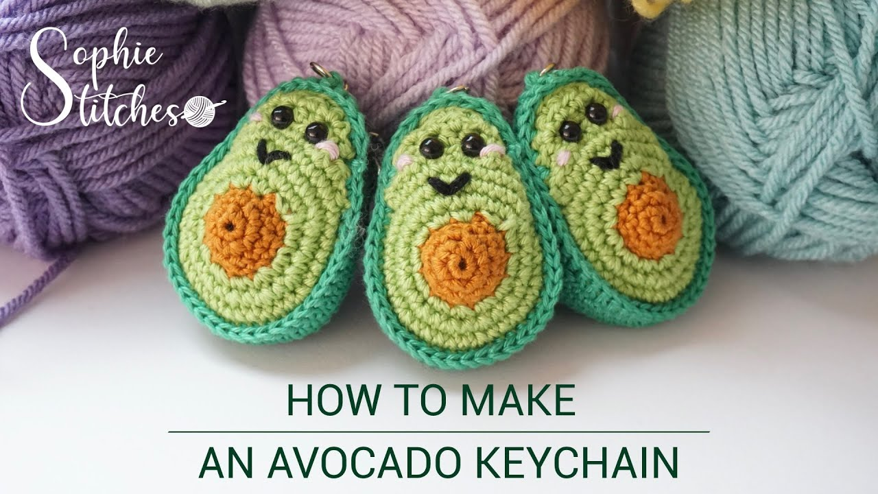 The Best Avocado-Themed Patterns For Knitters and Crocheters ... | 720x1280