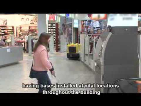 Navigation for the blind - at the mall