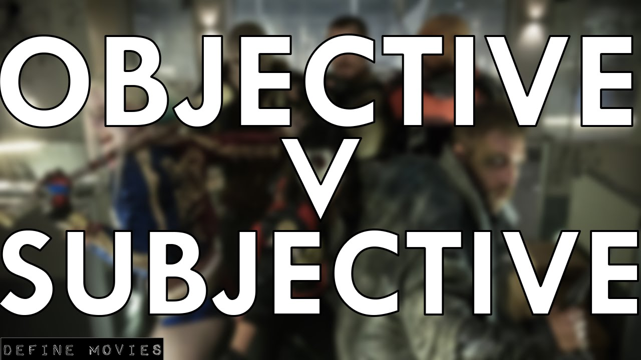 subjective v objective Subjective definition, existing in the mind belonging to the thinking subject rather than to the object of thought (opposed to objective) see more.
