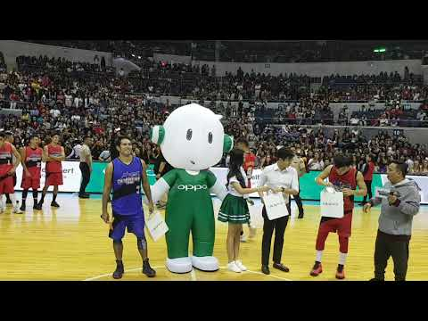 Team Gerald wagi sa Star Magic OPPO All Star Game; Loisa nagbigay ng award kay Ronnie