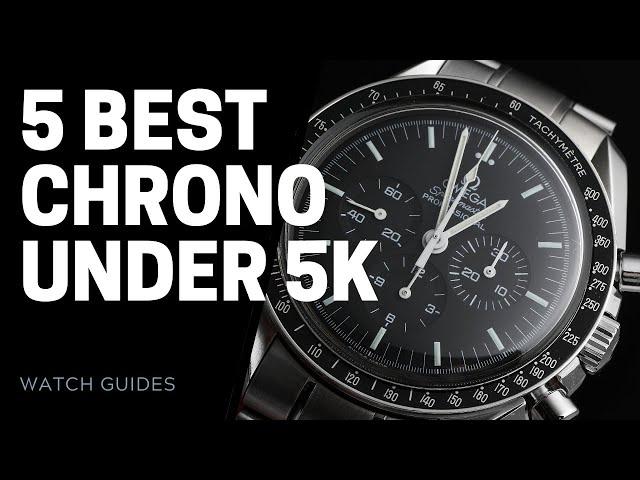 Best Chronographs Under $5000 | SwissWatchExpo