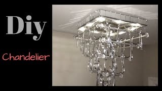Diy Chandelier Home Decor Simple, Quick and Inexpensive!!!