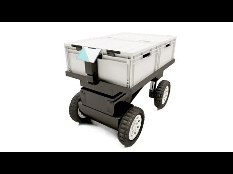 TROI - Self-driving delivery cart