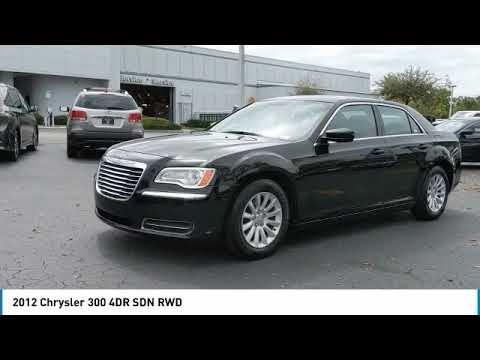 2012 Chrysler 300 DeLand Nissan C764992A