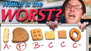 Which Chex Mix Piece is the Worst??