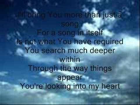 When the music fades(Heart of Worship)......Best Christian song