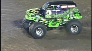 Grave Digger Race and Freestyle from Tampa 1998