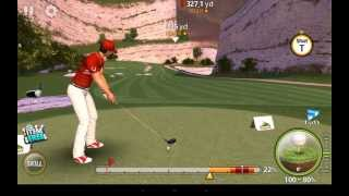 Golf Star White Cliff 1T Hole 2 Alternative way to shoot