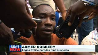 Lagos Police parades robbery suspects