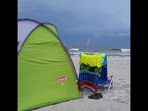 Coleman Beach Shade In The Wind Review Youtube