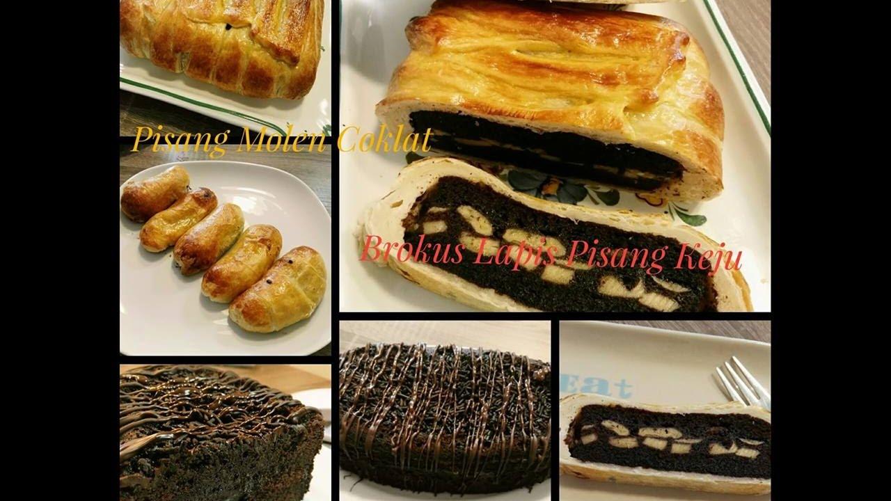 Brownies Kukus Pisang: Resep 3 In 1 Brokus : Brownies Kukus Lapis Pisang Keju