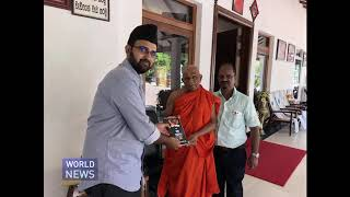 Ahmadi Muslims spread message of peace in Colombo