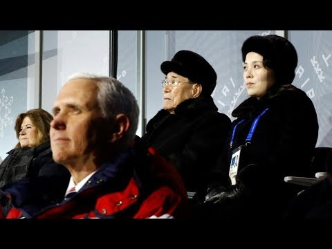 Olympics: Mike Pence, Kim Jong Un's sister seated next to each other at opening ceremony