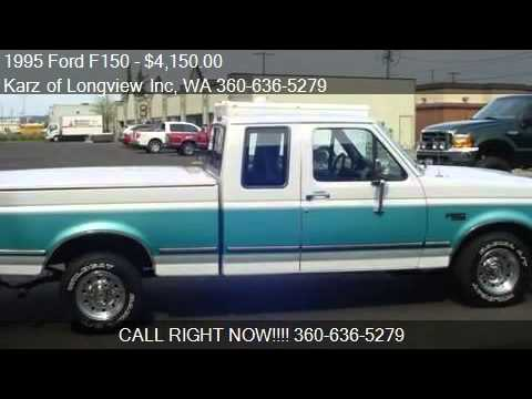 1995 Ford F150 Xlt Pkg Ext Cab For Sale In Longview Wa