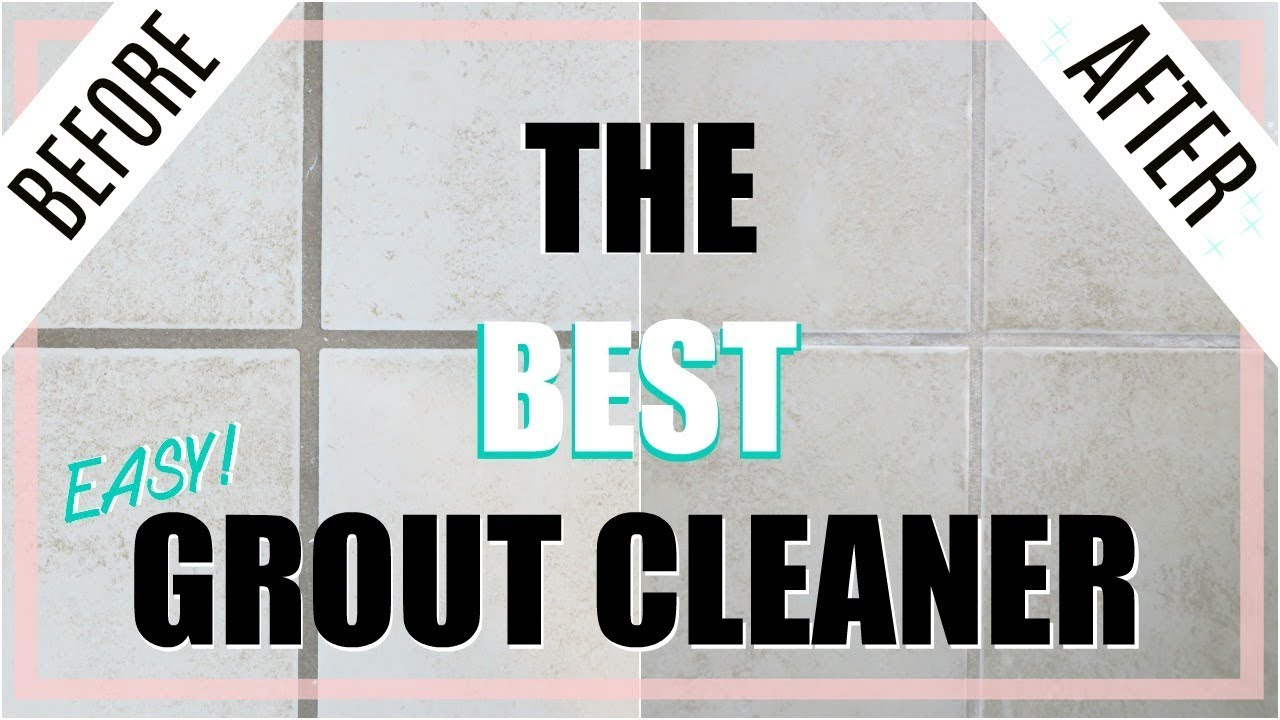 Quick Tip Cleaning Best Diy Grout Cleaner No Scrubbing Youtube