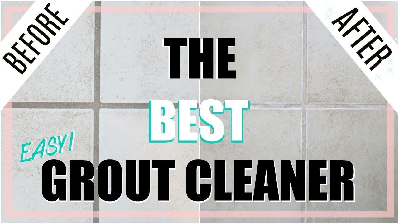 BEST DIY Grout Cleaner *NO SCRUBBING