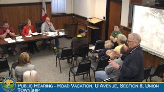 Hardin County Board of Supervisors Meeting 5-22-2019