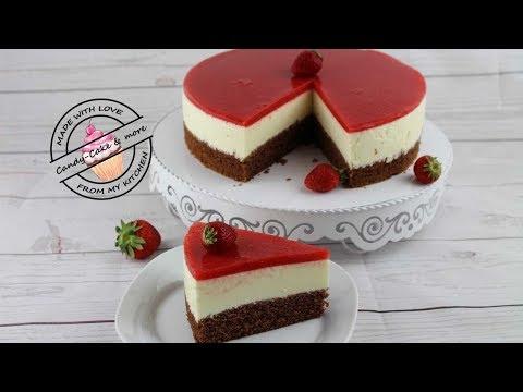 Zitronen Erdbeer Torte