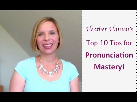 steps to improve pronunciation Finally, the best way to help students improve their pronunciation skills is to encourage them to speak english as much as they possibly can introduce the idea that.