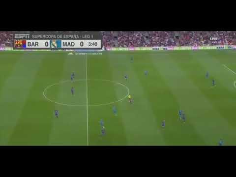 Selebrasi CR7 Yg Viral. Barcelona vs Real Madrid 1-3.Highlights & Goals.13 August 2017.