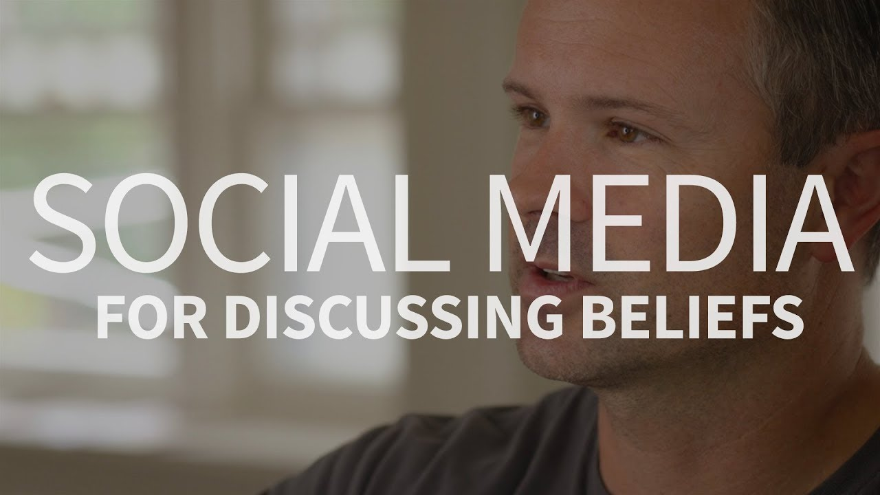 Should Christians use social media to discuss beliefs?