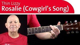 Thin Lizzy Guitar-Rosalie (Cowgirl