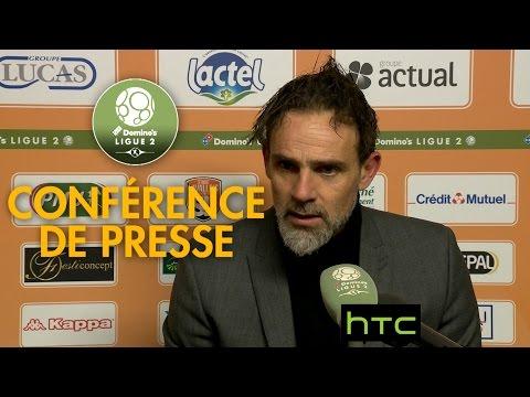 Conférence de presse Stade Lavallois - ESTAC Troyes (1-0) - 2016/2017