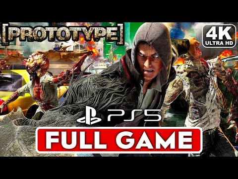 PROTOTYPE PS5 Gameplay Walkthrough Part 1 FULL GAME [4K ULTRA HD] - No Commentary