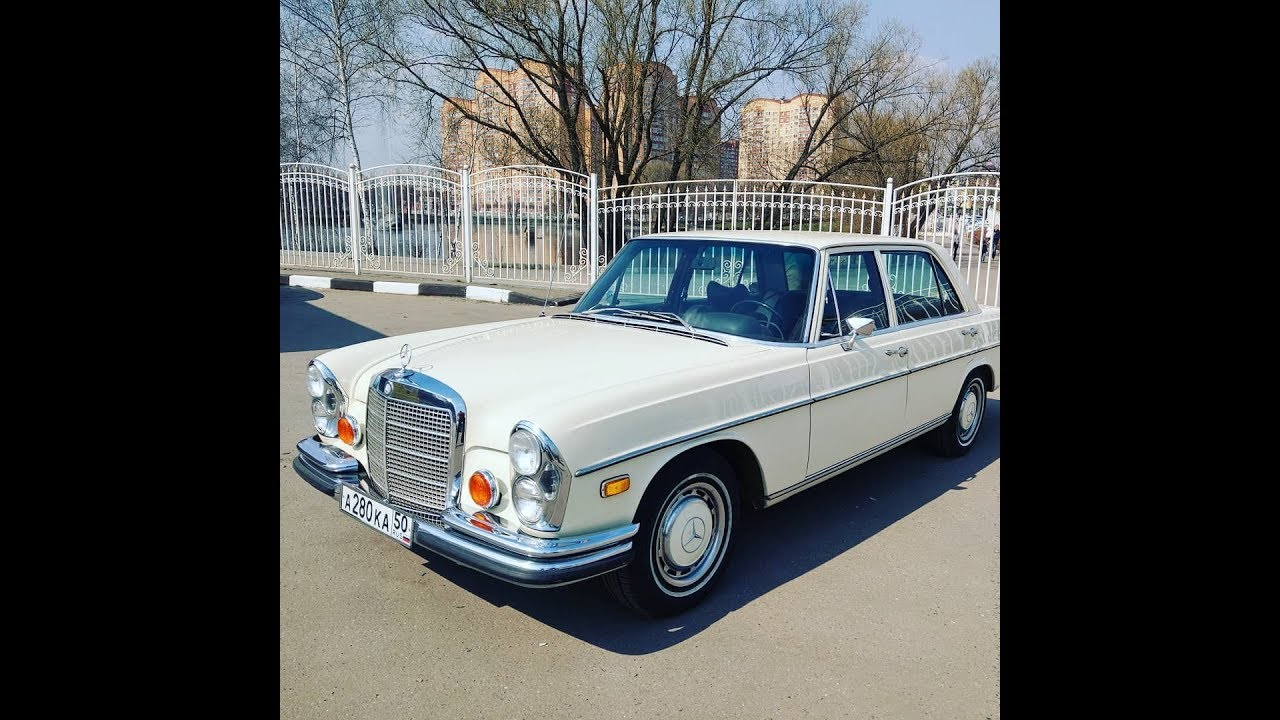 Автоновости и Mercedes 280SEL (часть 2)